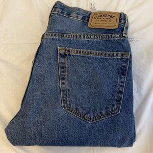 Signature Levi Strauss retro Regular fit jeans 32